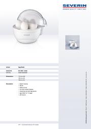 Severin EK 3050 Leaflet
