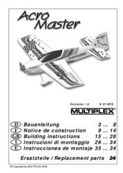 MULTIPLEX kit AcroMaster 214215 Data Sheet
