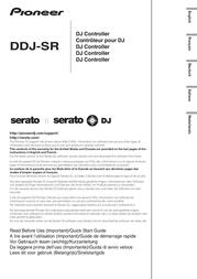 Pioneer Dj DJ Controller DDJ-SR DDJ-SR Data Sheet