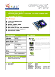 Sparkle Technology SXT2401024S3-NM Leaflet