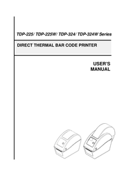 The Speaker Company tSc Barcode Reader TDP-225 User Manual