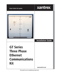 Xantrex GT Series User Manual