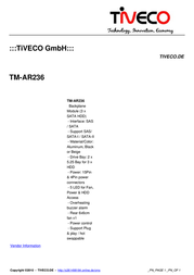 Tiveco TM-AR236 Leaflet