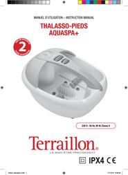 Terraillon Pedicure Spa IPX4 User Manual