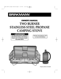 Brinkmann 842-0200-0 User Manual