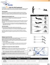 Hobby Zone Delta Ray HBZ7900 Data Sheet