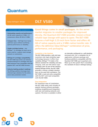 Quantum DLT VS80 RACKMNT BHDCA-EY Leaflet