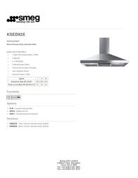 Smeg KSED92X User Manual