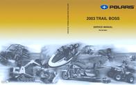 Polaris Industries Utility Trailer PN 9918061 User Manual