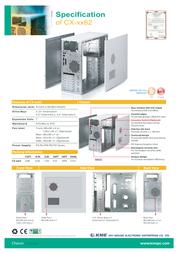 KME CX-7862 + PX-400W, Beige/Blue SKR022147 Leaflet