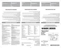 Applica CO85BM Opener CO85BM Leaflet