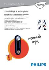 Philips KEY005/00 Leaflet