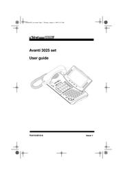 Avanti 3025 Manual De Usuario