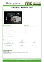MCL RT-400C Leaflet