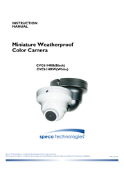 Speco Technologies CVC61HRB User Manual