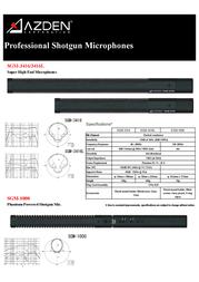 Azden SGM-1000 Leaflet