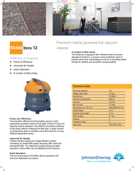 Taski Bora 12 7511187 Leaflet