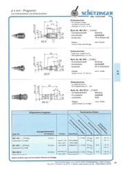 Schuetzinger Jack socket Socket, vertical vertical Pin diameter: 4 mm Red Schützinger IBU 401 rd 1 pc(s) IBU 401 rt Data Sheet