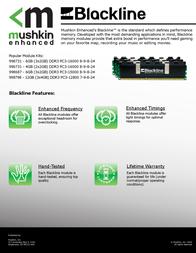 Mushkin 998731 Leaflet