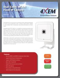 4XEM 4X-IP7134 Leaflet