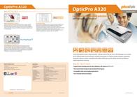 Plustek OpticPro A320 0147UK Leaflet