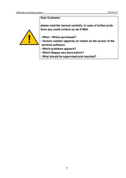 ConiuGo 700100107 EasyGuard II 700100107 User Manual