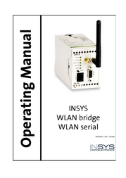 Insys WLAN Serial 11-02-01-06-02.004 User Manual