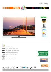 MyTV TLF32 Leaflet