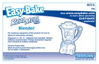 Hasbro Easy Bake 3082 Leaflet