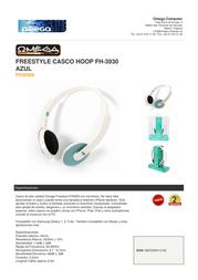 Omega FH3930E Leaflet