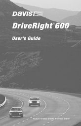 Davis DRIVERIGHT 600 8156HD User Manual
