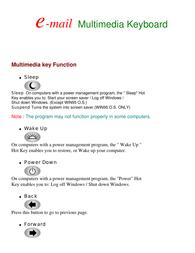 Apevia ki-combo Supplementary Manual
