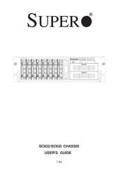 Supermicro CSE-833T-550 User Manual