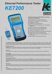 Kurth Electronic KE7207 0.49452-7 Leaflet