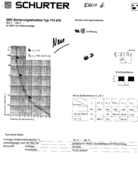 Schurter SMD fuse SMD MELF 0.125 A 125 V quick response F- 7010.9760 1 pc(s) 7010.9760 Data Sheet