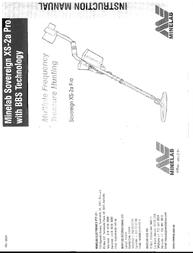 Minelab XS-2APro User Manual