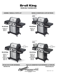 Broil King Gas Grill 9865-24 User Manual