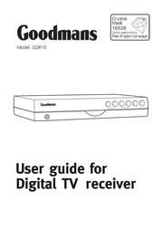 Goodmans GDR10 사용자 설명서