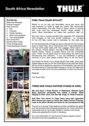 Thule TAS-115 TAS115 User Manual