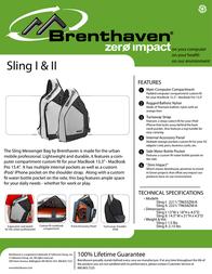 Brenthaven Sling I 2211101 Leaflet