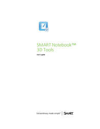 SMART Technologies Notebook 3D Tools User Manual