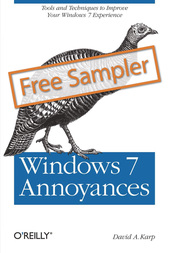 O'Reilly Windows 7 Annoyances 978-0-596-15762-3 User Manual