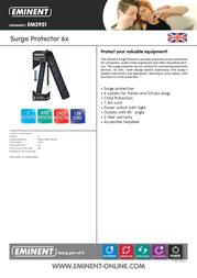 Eminent Surge Protector 6x EM3951 Data Sheet