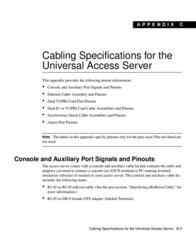 Cisco ISDN Pri Cable 10 Feet CAB-E1-PRI= User Manual