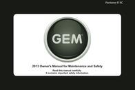 GEM 419C User Manual
