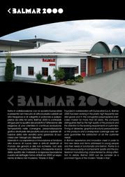 BALMAR 2000 PF04020401 User Manual