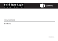 Solid State Logic DUENDE 82S6MC060A User Manual