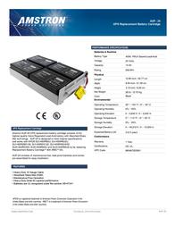 Amstron AUP-24 Leaflet