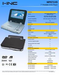 I-Inc mp071vd Dokument