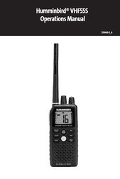 Humminbird VHF55S User Manual